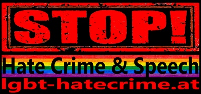 Stop Hate Crime Speech Logo